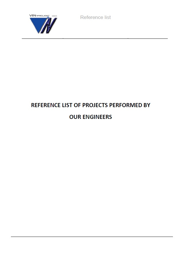 Reference list – Reference List